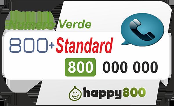Numero Verde 800 Ricaricabile